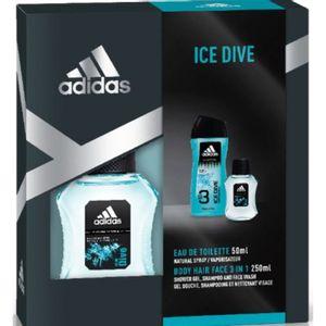 Adidas Ice Dive EDT 50ML + Gel de Ducha 250ML