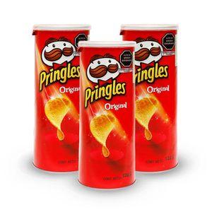 Combo Pringles Original X3