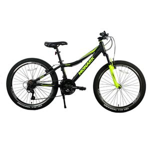 "Bicicleta Monark Mirage 24"" Negro/Amarillo"