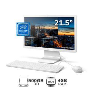 """AIO 22V280-L.AY24B4 21.5"""" Celeron N4100 4GB RAM 500GB DD"""
