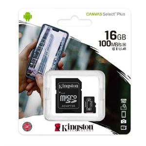 Memoria Micro SD 16GB Clase 10 Kingston