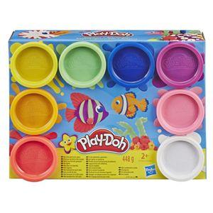 Play-Doh Neón - Empaque de 8 Latas Multicolor