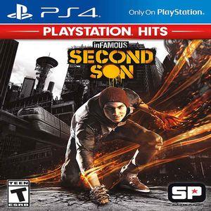 Juego de Acción PS4 inFAMOUS Second Son Playstation Hits