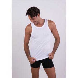 Camiseta Puño Sin Mangas Blanco