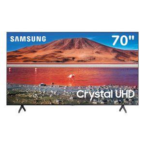 "Televisor Samsung Crystal 70"" UHD 4K Smart TV 2020 TU7000"