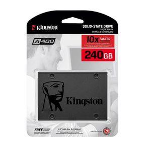 Disco duro Solido SSD 240GB Kingston A400