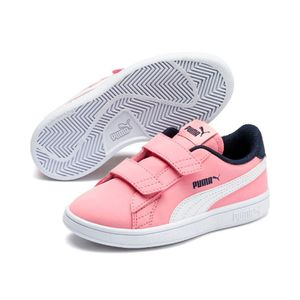 Zapatillas Puma Niña 365183 16 Puma Smash V2 Buck V Ps Rosado