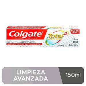 Crema Dental Colgate Total Clean Mint - Tubo 150 ML