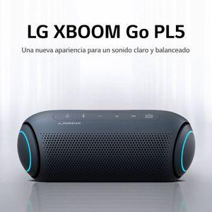 LG Parlante Bluetooth Portatil Xboom PL5 Negro (2020)