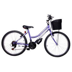 """Bicicleta Monark Mujer Demon Chic 24"""" Lila"""