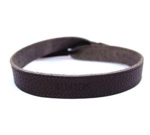 Holder para lentes gris Grey Leather Strap Blinders unisex