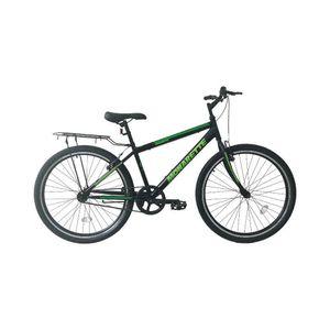 """Bicicleta Monarette Master bike 26"""" Negro/Verde"""