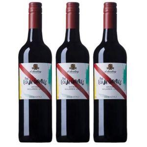 Pack 3 Bodega D'Arenberg - Love Grass - Vino Tinto - Shiraz -Australia - 750 ml