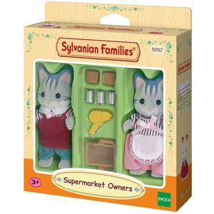 Figuras Coleccionables  Dueños de Supermercado Sylvanian Families