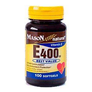 Vitamina E 400 UI Mason Natural