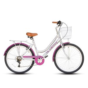 Bicicleta Best Mujer Branta Aro 26 Gris