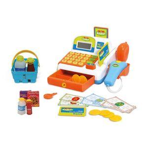 Fun Market Caja Regitradora con 20 Accesorios Naranja