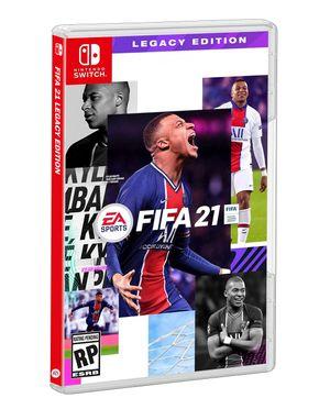 Juego Nintendo Switch Fifa 21