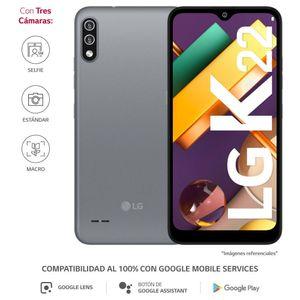 """Smartphone LG K22 6.2"""" 32GB Titan"""