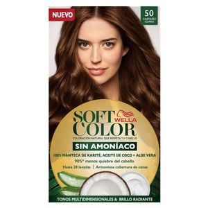 Wella Tinte Soft Color Kit 50 Castaño Claro