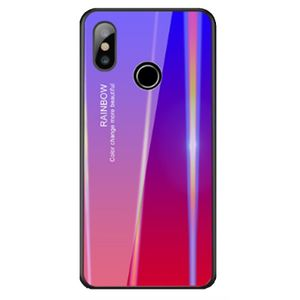 Case Carcasa con Degrade para Xiaomi Mi 8 Azul Fucsia