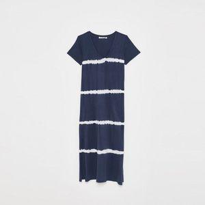 Vestidos Tie Dye Azul Marino