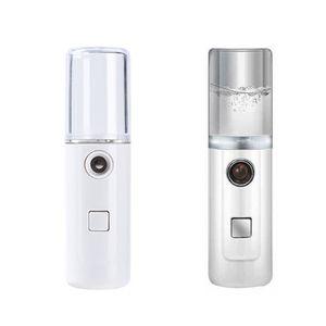 Vaporizador Recargable Usb Pulverizador Spray Atomizador Hidratante Color Transparente