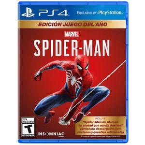 Juego PS4 Spiderman GOTY Edition
