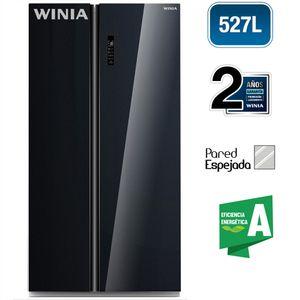 Refrigeradora WINIA 527L No Frost WRS-530MCBG Negro