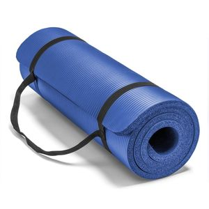 Colchoneta Nbr Yoga Mat Pilates 10 mm Azul