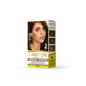 Doble Kit Lan Ten Perfect Color 6.73 Chocolate Dorado
