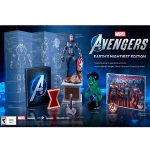 Juego Ps4 Marvel Avengers Collector Edition