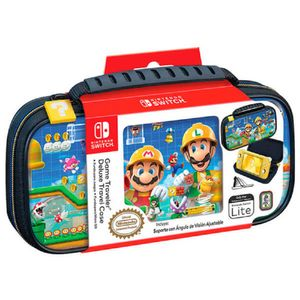 Estuche Nintendo Switch Game Traveler Deluxe Travel Case Mario Maker