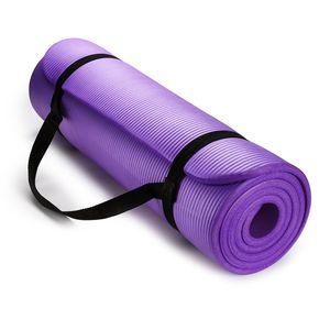 Colchoneta Nbr Yoga Mat Pilates 10 mm Morado