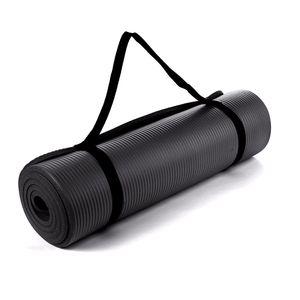Colchoneta Nbr Yoga Mat Pilates 10 mm Negro