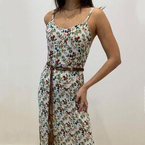 Vestido Maja Largo Floreado