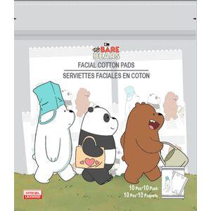 Almohadilla De Algodón X 10 We Bare Bears Surtido