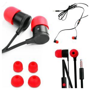 Audífono HTC Chupón Rojo Negro Suelto