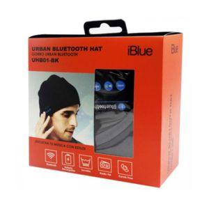 Gorro Bluetooth Iblue Urban Fm Lana Control Volumen Black - Uhb01-Bk