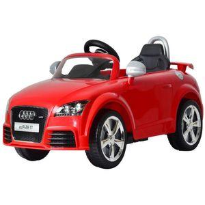 Auto Eléctrico AUDI Rojo 6V