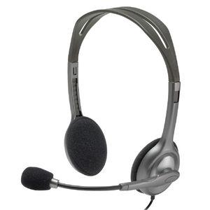 Audífono Logitech H111 Stereo con Micrófono
