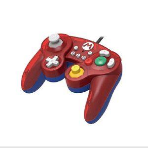 Mando Nintendo Switch Hori  Battle Pad  Mario ( Alámbrico)