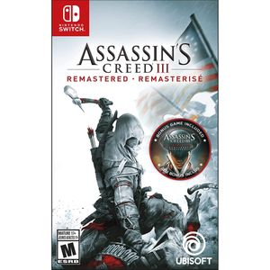 Assassins Creed III Remastered Nintendo Switch