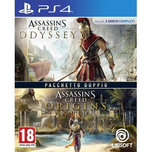 Juego Ps4 Assassins Creed Odyssey + Assassins Creed Origins Double Pack