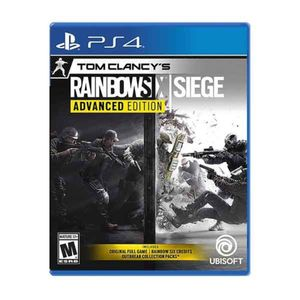 Juego Ps4 Tom Clancys Rainbowsix Siege Advanced Edition