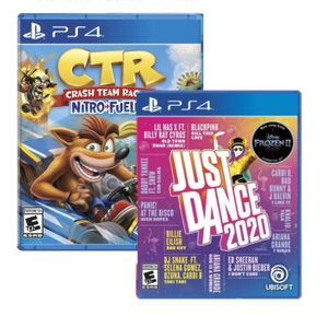 Juego Ps4 Just Dance 2020 + Crash Team Racing