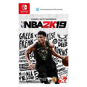 Juego Nintendo Switch NBA 2K19