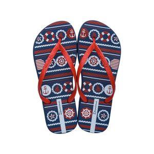Sandalias de Playa Ipanema Mujer 2Ipb30 Azul/Rojo