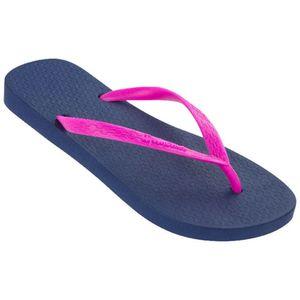 Sandalias de Playa Ipanema Mujer 2Ipb26 Azul/Fucsia