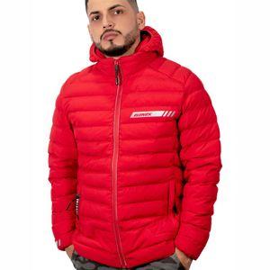Casaca Elenex Chilippepers con Capucha Color Rojo